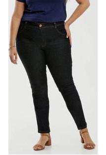 Calça Jeans Skinny Feminina Plus Size Biotipo