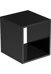 Cubo Aberto Bcb 03-26 Preto Brv Móveis