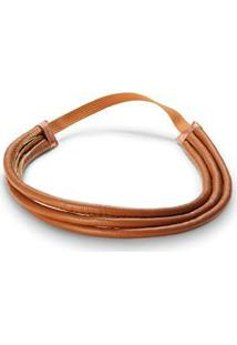 Tiara Triple Headband Caramelo