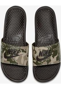... Chinelo Nike Benassi Jdi Print - Masculino-Marrom fb85667119c1b
