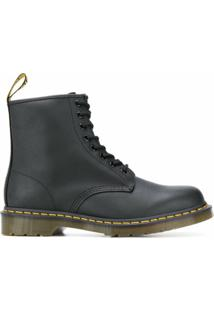 Dr. Martens 101 Lace-Up Ankle Boots - Preto
