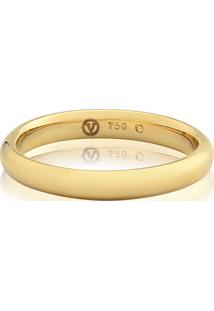 Aliança De Casamento Ouro Amarelo (4Mm)