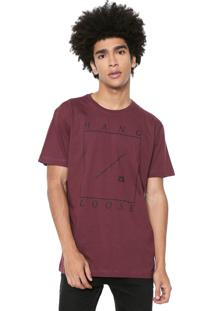 Camiseta Hang Loose Swell Bordô