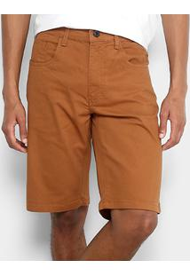 Bermuda Oakley 5 Pockets Short Masculina - Masculino-Cáqui