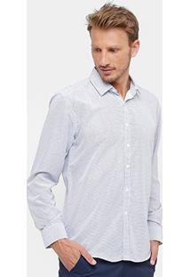 Camisa Social Broken Rules Full Print Masculina - Masculino