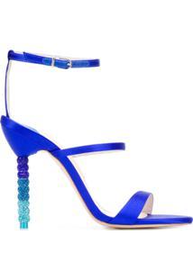 Sophia Webster Sandália 'Rosalind Crystal' - Azul