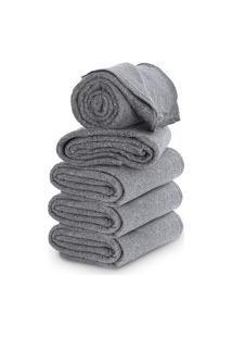 Cobertor Casal Com 5 Peças 160X190Cm Corta Febre Popular Doaçáo - Emcompre