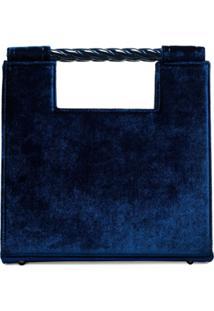Mehry Mu Bolsa Tote Unicórnio - Azul