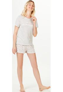Pijama Longo Feminino Estampado