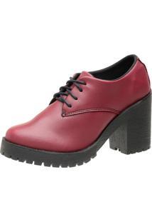 Oxford 3Ls3 Casual Vermelho - Tricae