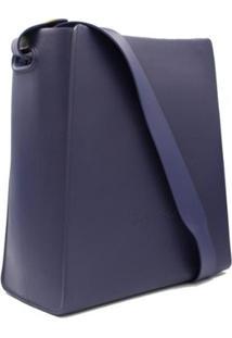 Bolsa Petite Jolie Boldy Tote Ziper Feminina - Feminino-Azul