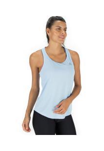 Camiseta Regata Adidas Run It - Feminina - Azul Claro