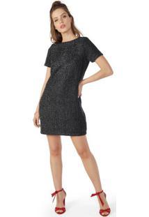 Vestido Reto Tweed