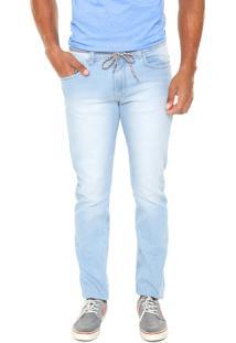Calça Jeans Element Slim Delave Azul