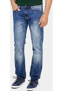 Calça Jeans Reta Forum Greg Estonada Masculina - Masculino