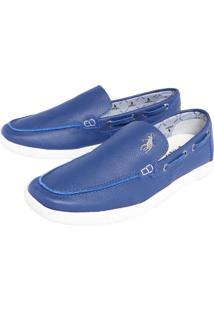 Sapatênis Polo Hpc Slip Azul