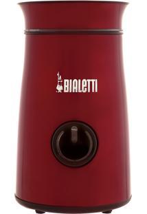 Moedor De Café Bialetti Mcf01B Electricity 150W Inox Vermelho