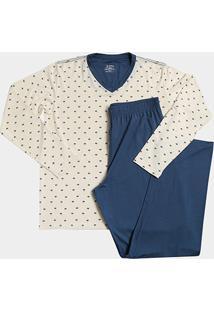 Pijama Lupo Longo Guarda-Chuva Masculino - Masculino