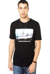Camiseta West Coast Ship Preta