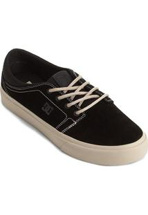 Tênis Dc Shoes Trase Tx I Masculino - Masculino-Preto+Branco