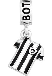 Pingente Life Camiseta Do Botafogo