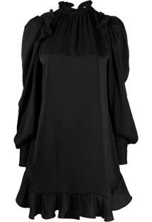 Zadig&Voltaire Vestido Slim Com Recorte Vazado - Preto
