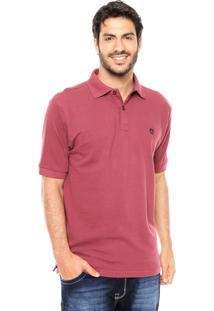 Camisa Polo Mr Kitsch Basic Vinho