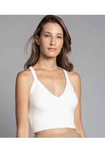 Blusa Tricô Branco Off White - Lez A Lez