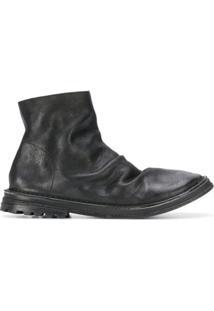 Marsèll Ankle Boot Com Zíper - Preto