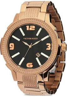 Relógio Victor Hugo Analógico 10086Lsr/02M Rose