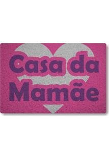 Tapete Capacho Casa Da Mamae - Rosa Pink