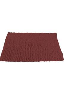 Tapete Micropop- Vermelho Escuro- 60X40Cm- Camescamesa