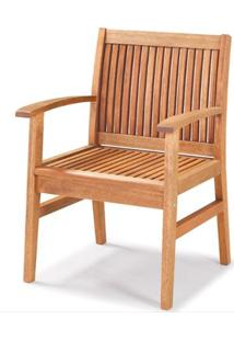 Cadeirao Primavera Stain Jatoba Sem Braco 48Cm - 60425 - Sun House