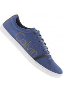 Tênis Calvin Klein Limited - Masculino - Azul Escuro
