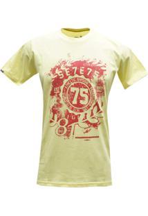 Camiseta 775 Maior Amarela