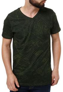 Camiseta Manga Curta Masculina Fido Dido Verde