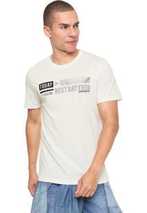 Camiseta Sommer Today Off-White