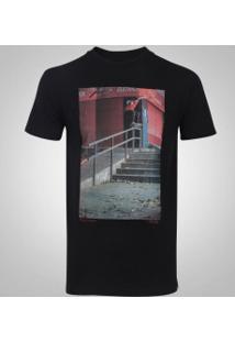 Camiseta Dc Tiago Blabac Tall Fit - Masculina - Preto