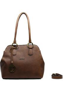 Bolsa De Couro Recuo Fashion Bag Tiracolo Telha