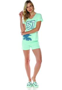 Pijama Sonno Vinci 87041 Verde