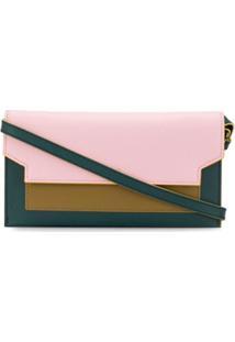 Marni Bolsa Transversal Color Block - Rosa