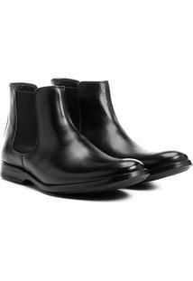 Bota Couro Shoestock Chelsea Masculina - Masculino