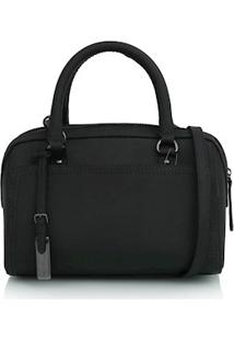 Bolsa Pequena Com Tag Preto