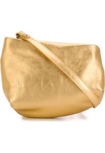 Marsèll Bolsa Transversal Metálica - Dourado