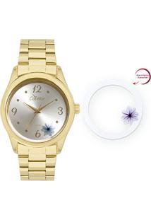 ... Relógio Feminino Condor Analógico Co2035Kvx 4K Ouro 30fba1e2cb