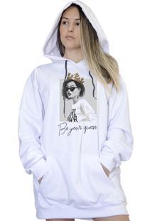 Casaco Canguru Boutique Judith Be Your Queen Branco