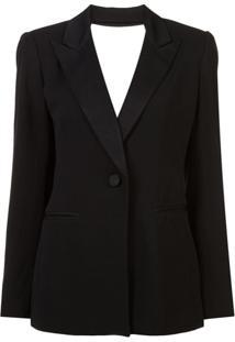 Dvf Diane Von Furstenberg Blazer Clássico - Preto