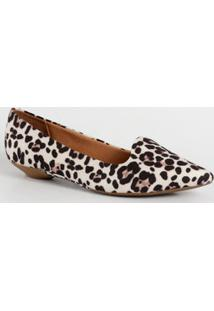Sapatilha Feminina Slipper Animal Print Vizzano 1131529