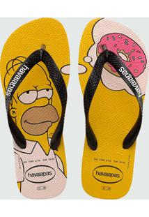 Chinelo Masculino Simpsons Havaianas 1652