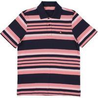c2c6607a6b Camisa Polo Regular Listrada Tassa Masculina - Masculino-Rosa